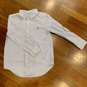 Ralph Lauren: Boys Size 6 Dress Shirt